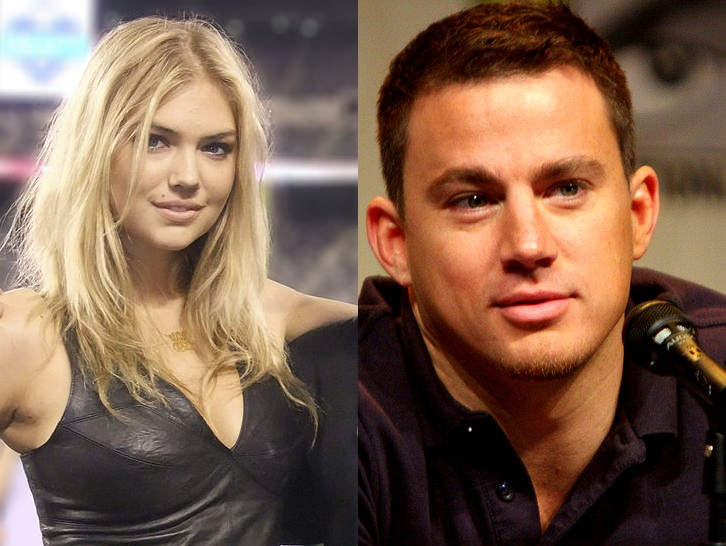 kate upton - channing tatum