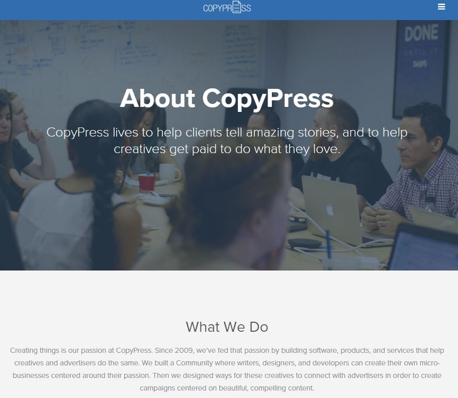Top content writing companies