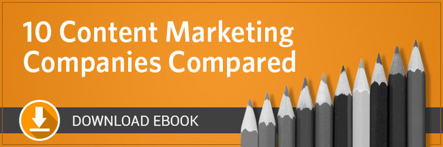 10 Content Marketing Companies Compared
