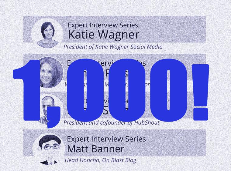 Media Shower Milestone: 1,000 Influencers!