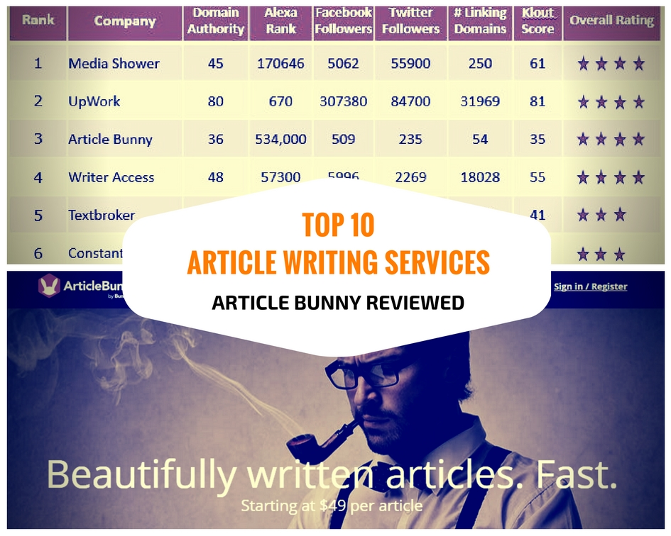 Article writing service on environment