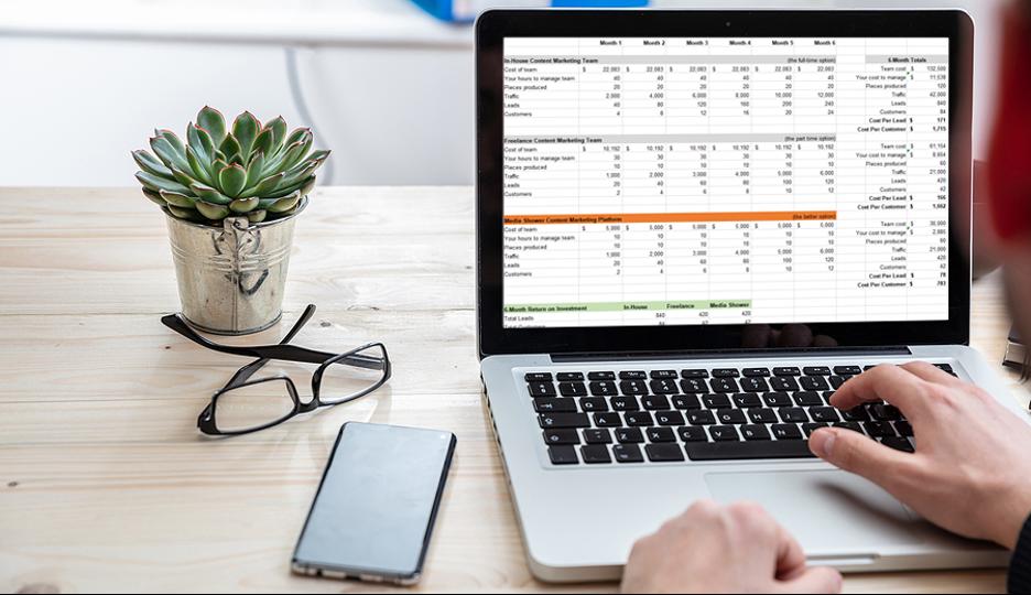 Content marketing calculator