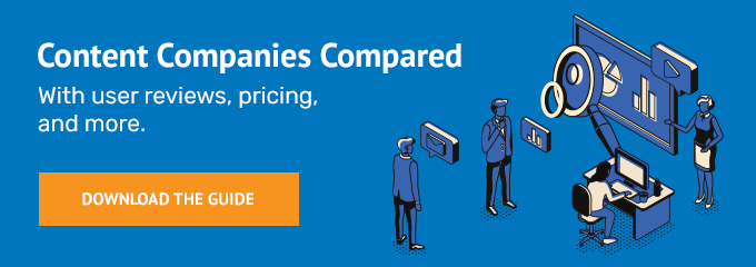 Content companies compared