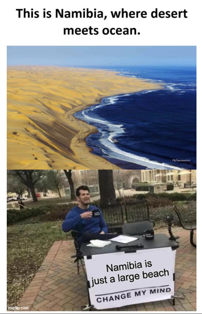 Namibia meme