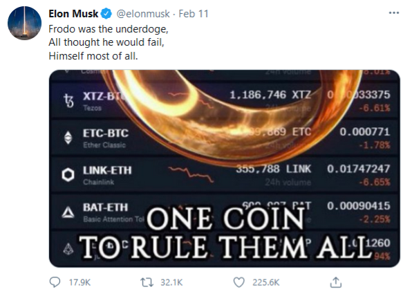 One coin to rule them all