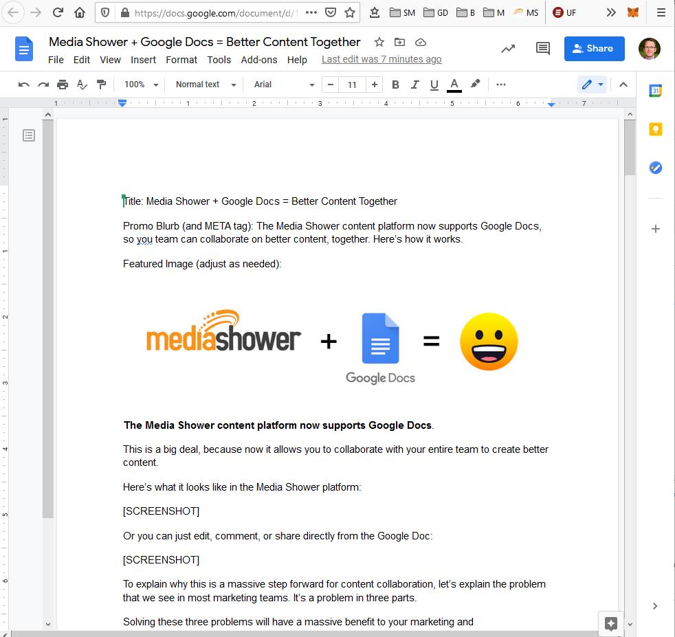 Google Doc screenshot.