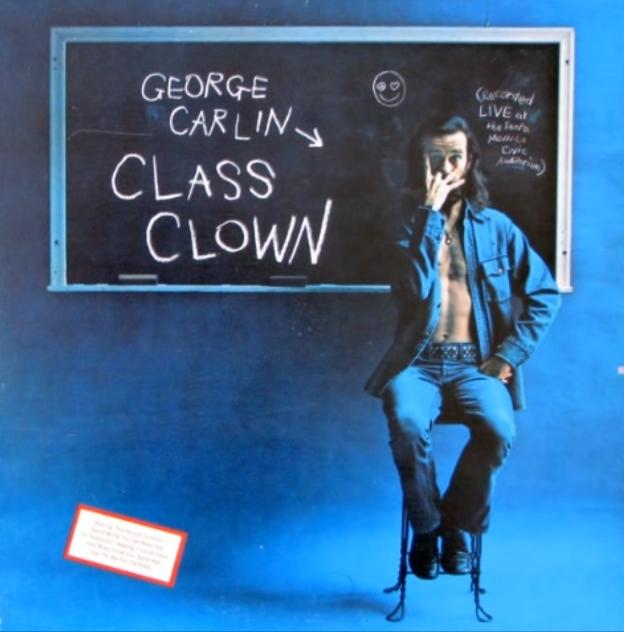 George Carlin class clown