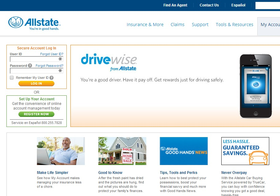 Big Data for Insurance: Allstate Drivewise portal