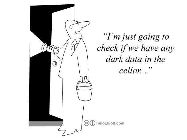 Cartoon: Do we have Dark Data in the cellar?