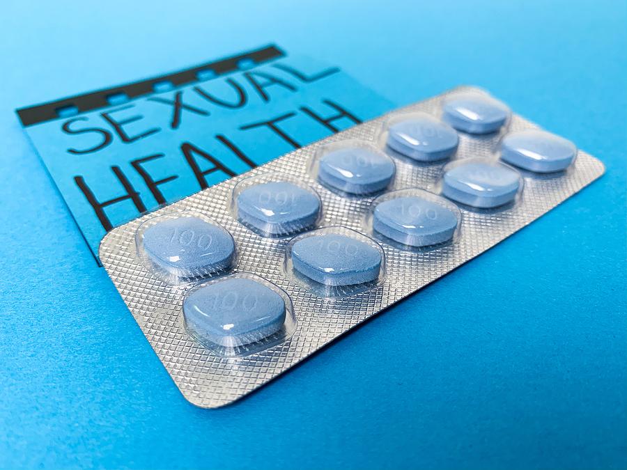 Blue pill pack.
