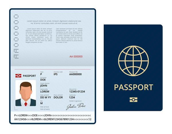 Passport image.