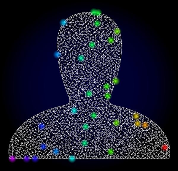 Digital drawing of a human figure.