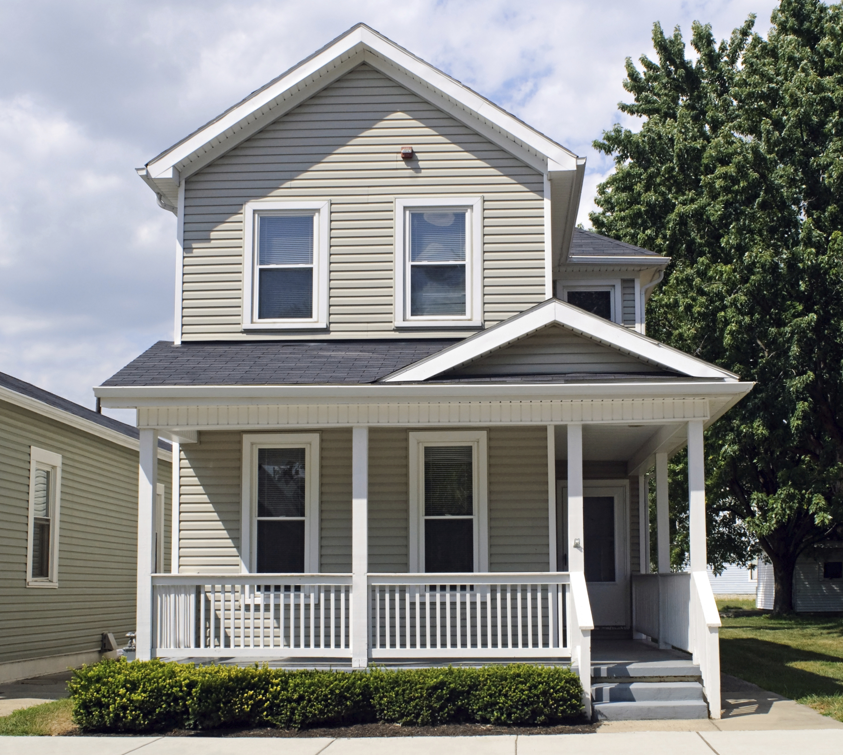 Small Porch Designs Can Have Massive Appeal: Restore Your Railings For A Curb Appeal Boost