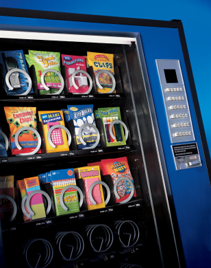 A vending machine
