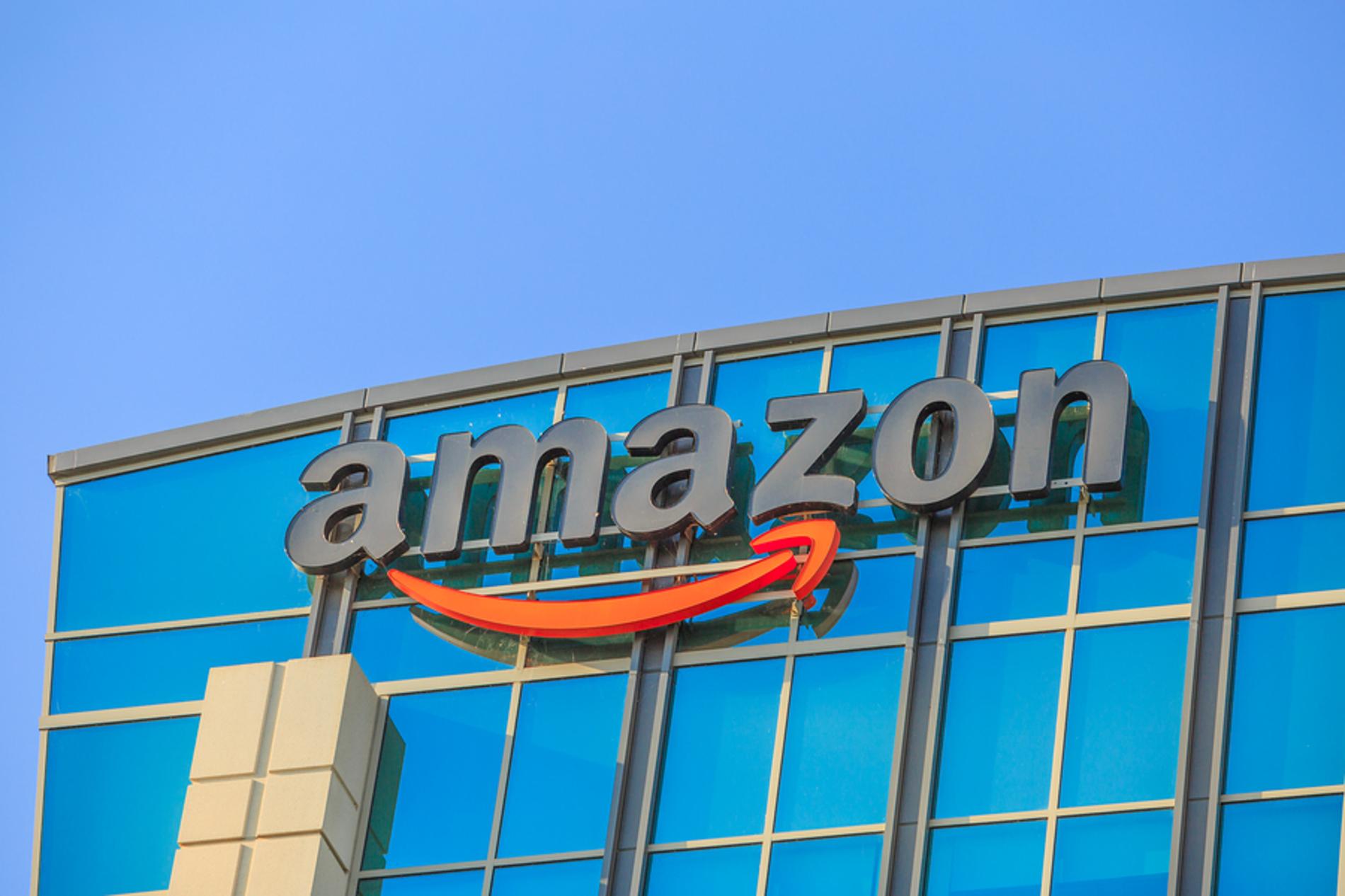 Amazon building.