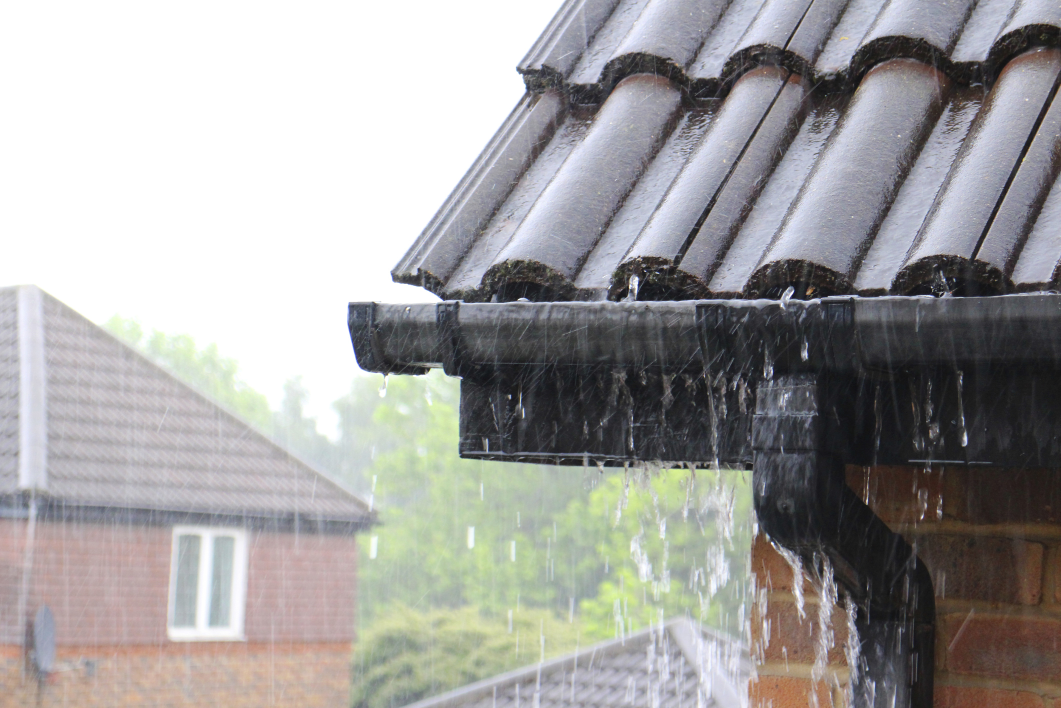 Matching Gutters To Roofing Designs.