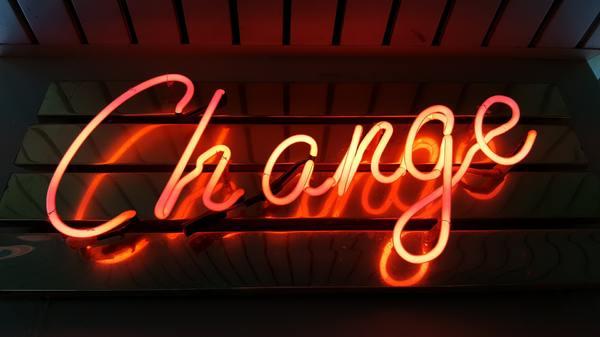 Change neonsign.
