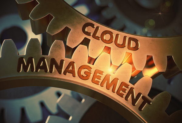 Gears with the words Cloud Management.