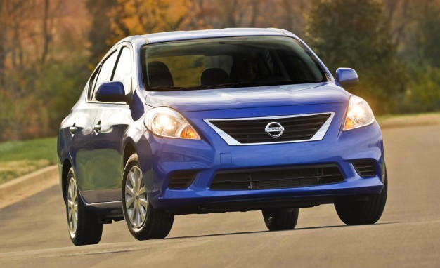 2014 Nissan Versa SV sedan INLINE 626x382 In the Market for a Car? Check Out These Affordable Options