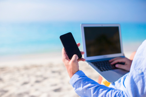 Don't let screens be the views you remember most from your vacation