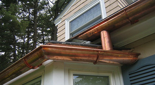 If You Want To Upgrade From Your Existing Aluminum Gutters Investing In A Long Lasting Stainless Steel Guttering System Might Be An Option