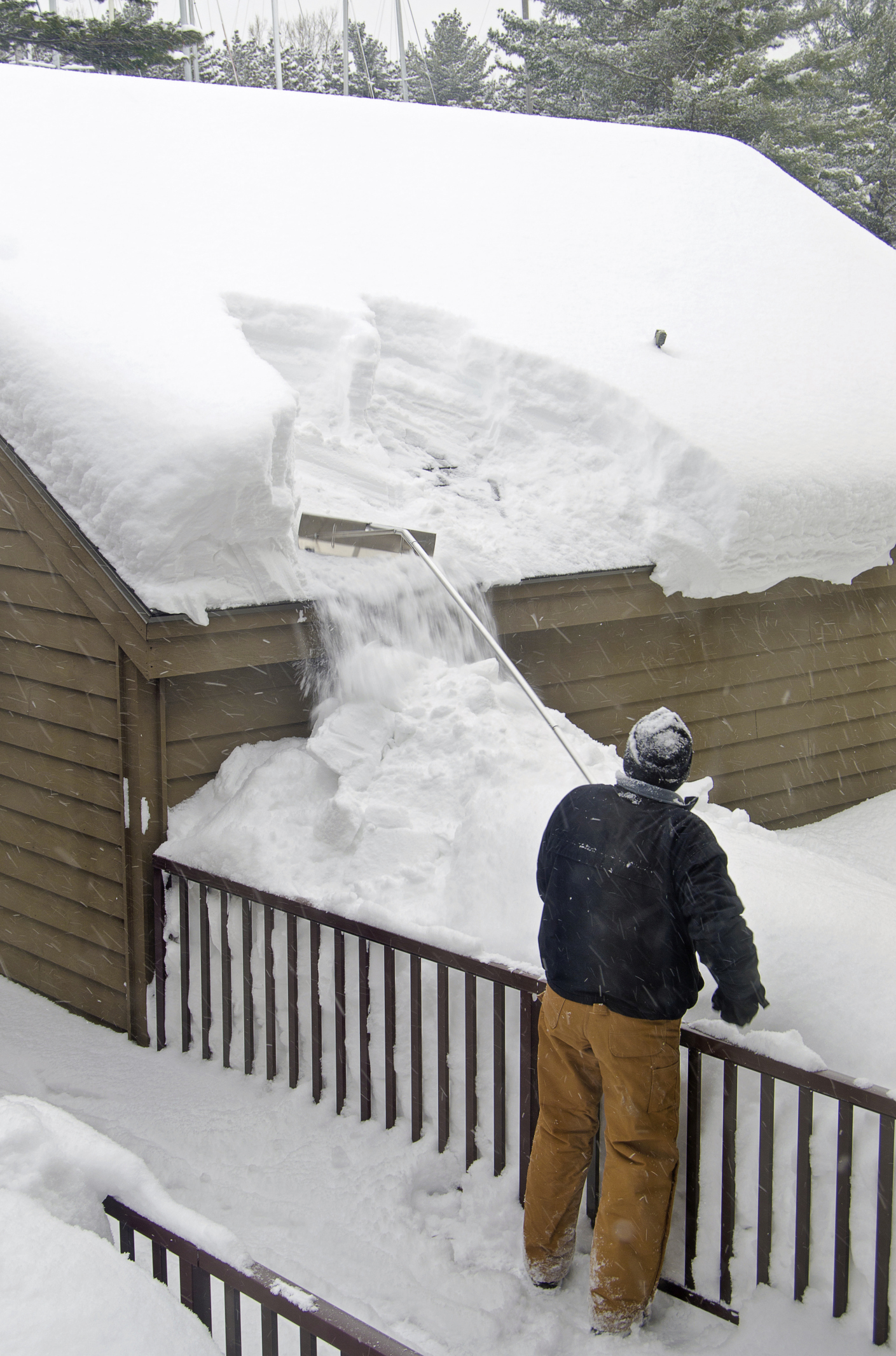 Is Your Roof In Danger From Collapsing Under Heavy Snow