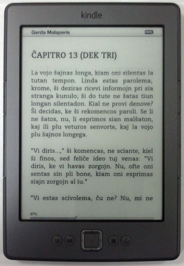 Kindle as BigData for readers