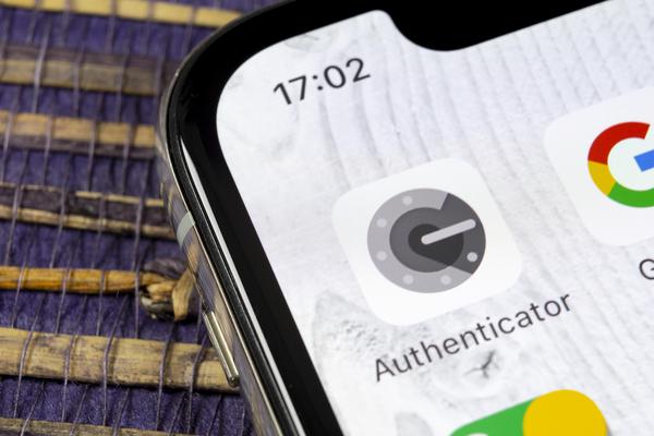 Google authenticator icon.