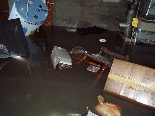is your basement at risk for flooding here are five telltale signs