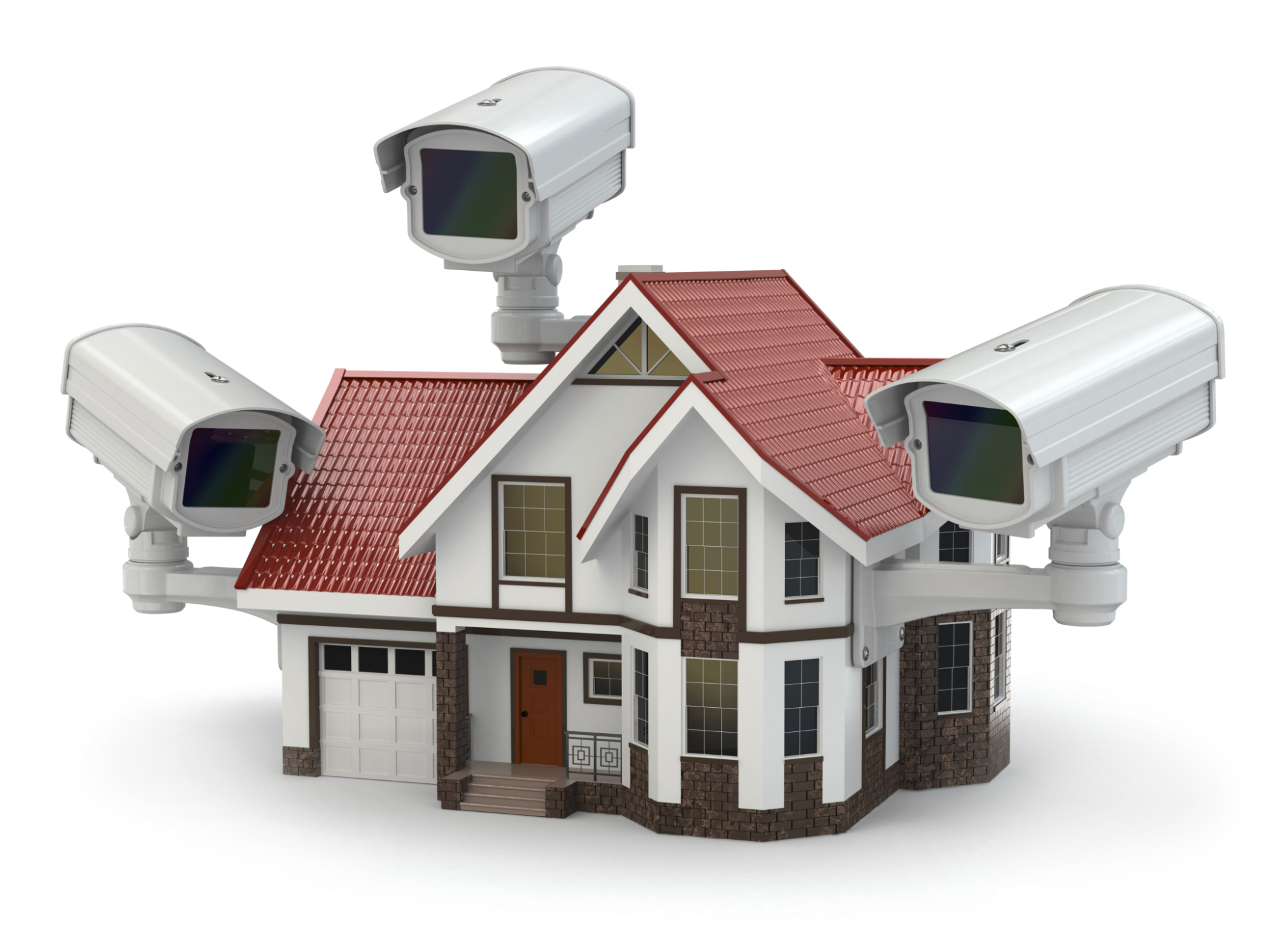 The Dos And Donts Of Installing Home Surveillance Cameras Wiring Exterior Soffit Lights Survellience