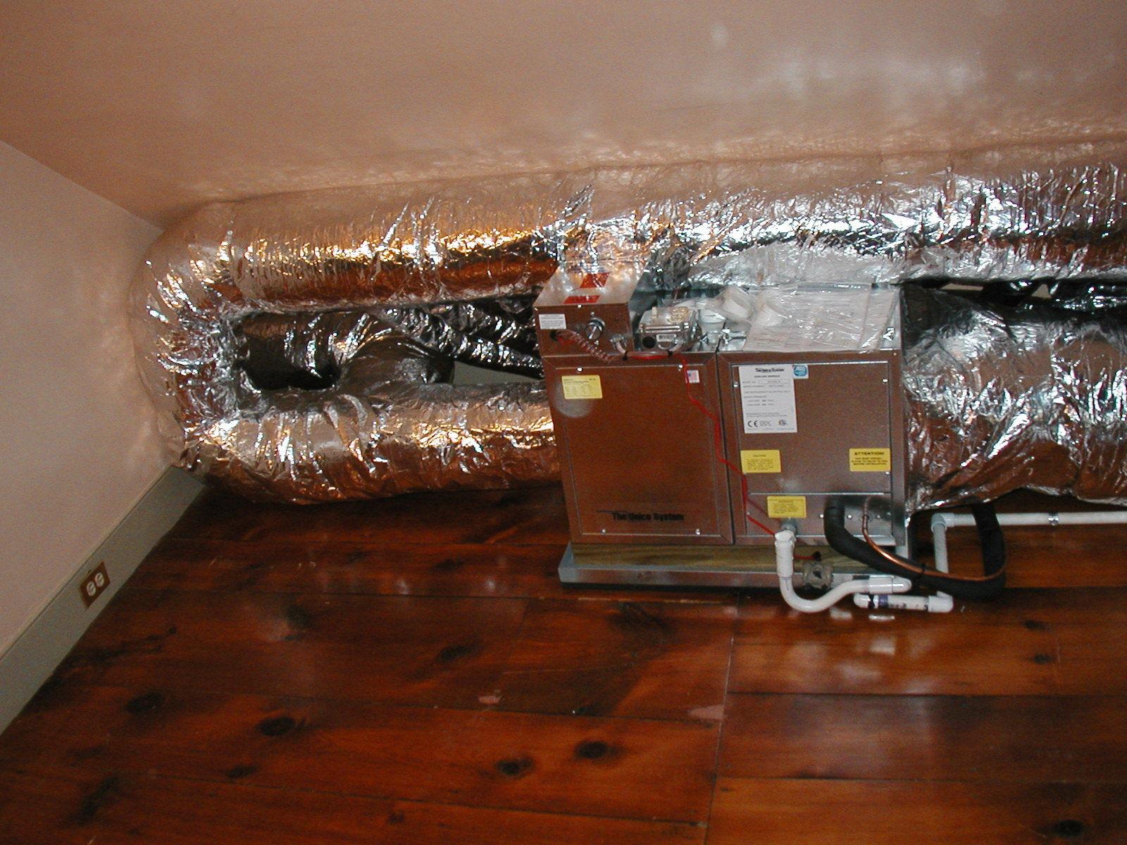 Unico High Velocity HVAC for Bucks, Montgomery and Philadelphia counties.