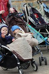 Choosing baby strollers