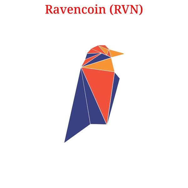 Ravencoin logo and symbol.