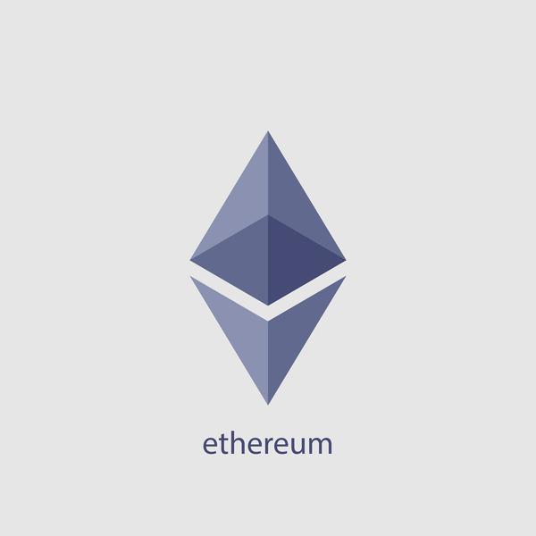 ethereum logo.
