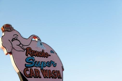 Brand identity design car wash