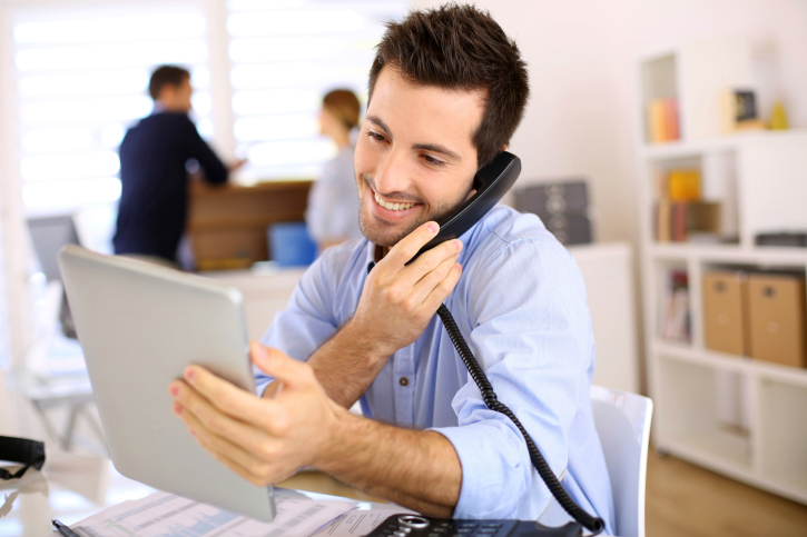 Features of IP phone systems can speed  up sales calling and make it more effective.