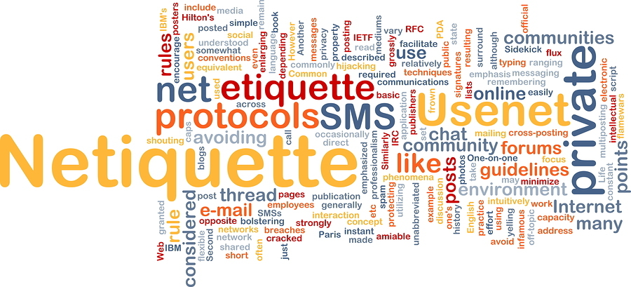 online etiquette The internet often plays a huge part in many young people's daily activities   here are 7 top tips to help young people with online etiquette.