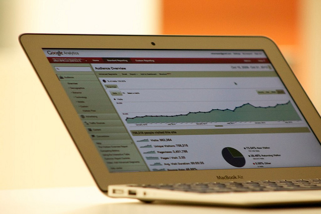 Google analytics as well as other analytic tools can help a cmpany fine tune your web presence for better marketing leads