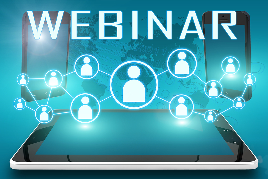 Business leads can be gathered when attendees register for your webinar