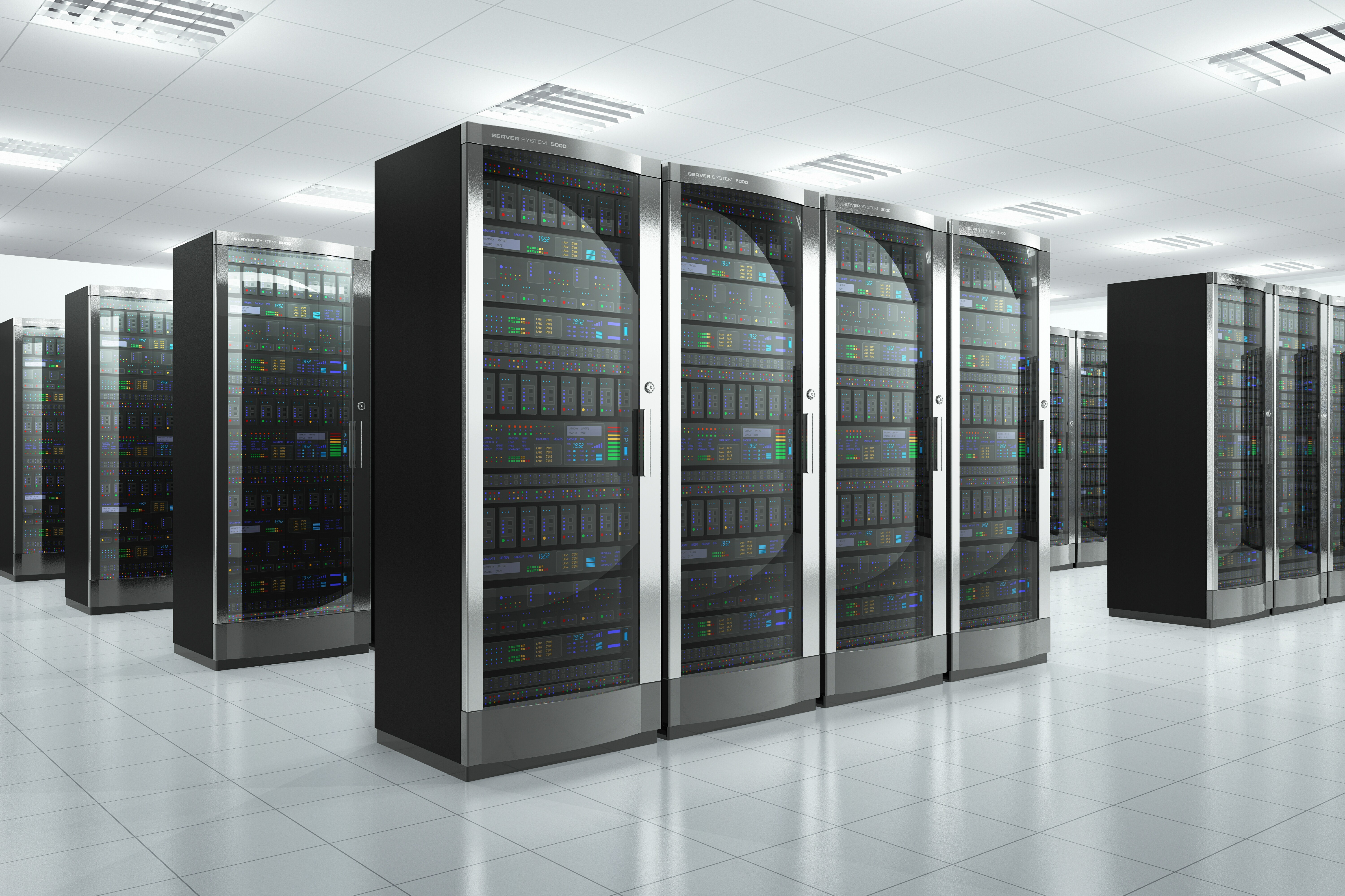 bigstock Network servers in datacenter 45477460 Breathing New Life into the Mainframe