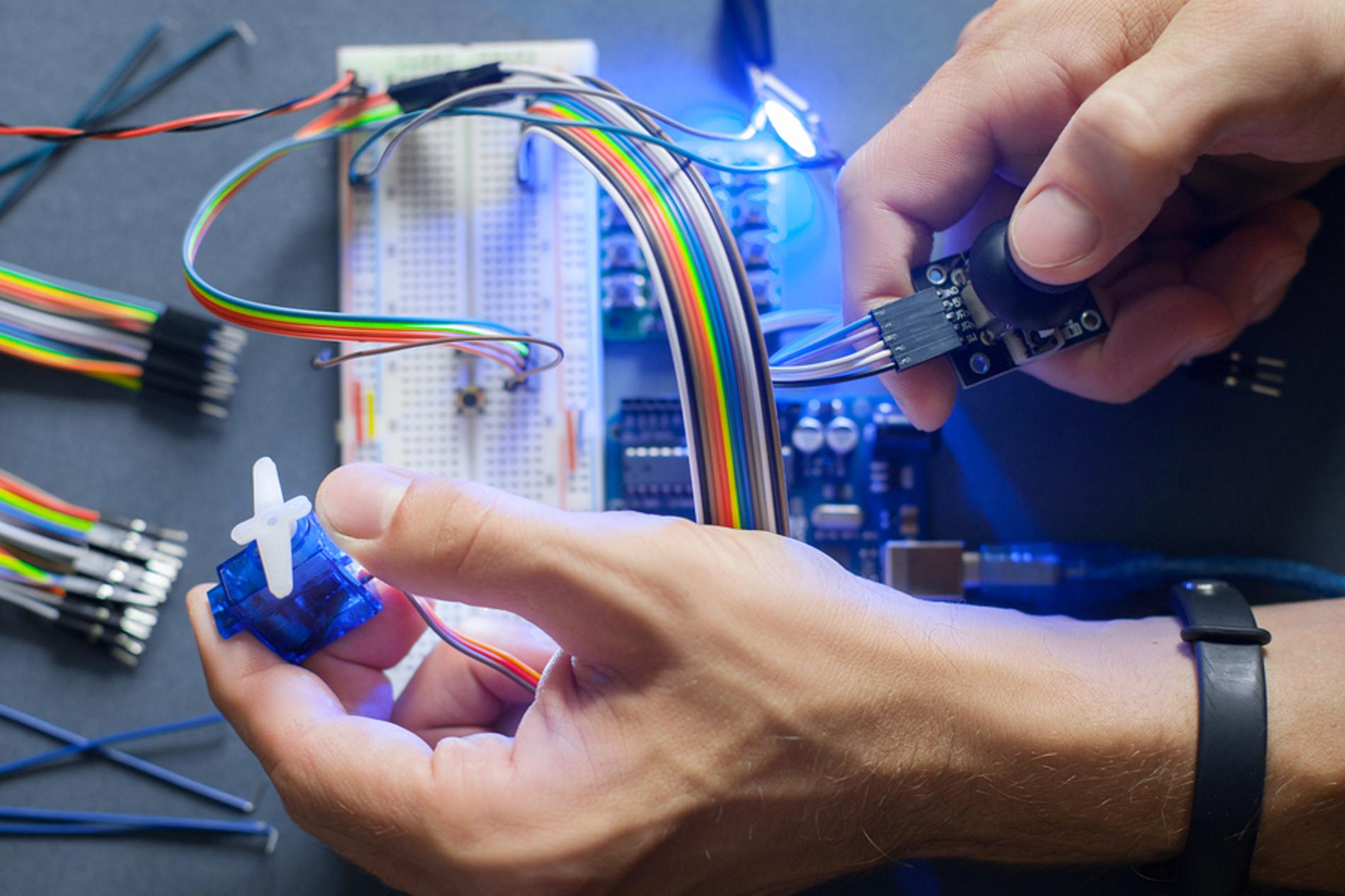 Robotics technician.