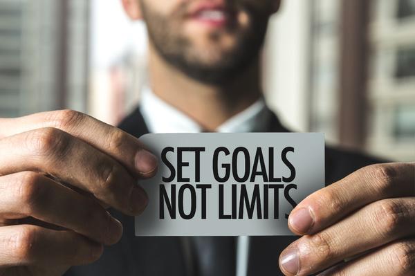 Set goals not limits.