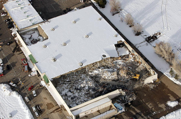 Winter 2013 Roof Collapses In Pictures