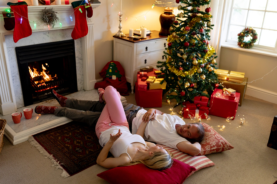Alone time as a couple during the holidays
