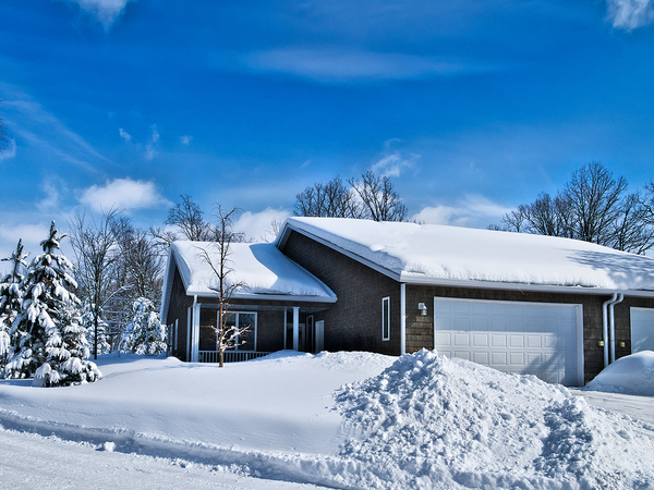 Snow is beautiful, but sometimes it can become hazardous to your home.