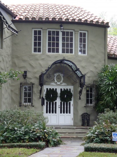 Superieur On This Home In Winter Park, Florida, No Generic Stripes Or Solids Will Do  For This Front Door Awning. Instead, The Owners Chose A One Of A Kind  Sectioned ...