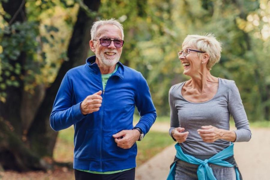 Running helps avoid depression