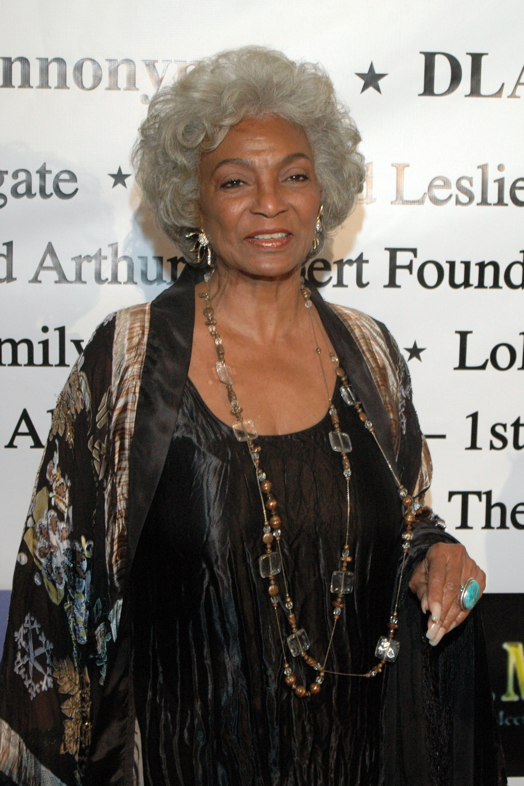 Nichelle Nichols in 2009