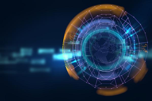 Data Integration Image Globe.