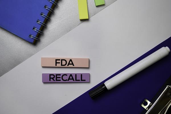 FDA Recall note.